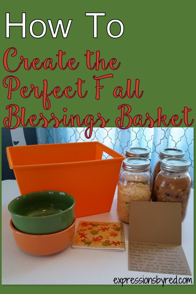 How To Create the Perfect Fall Blessings Basket
