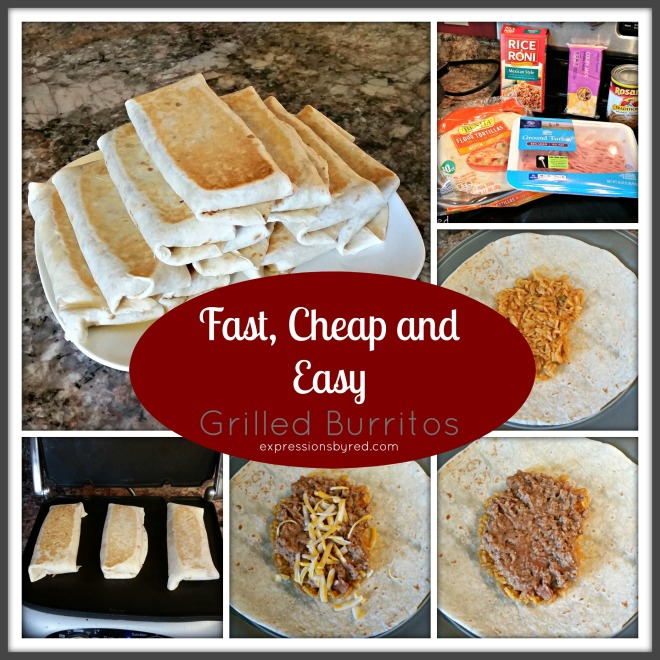 Fast, Cheap and Easy Grilled Burritos - expressions by red