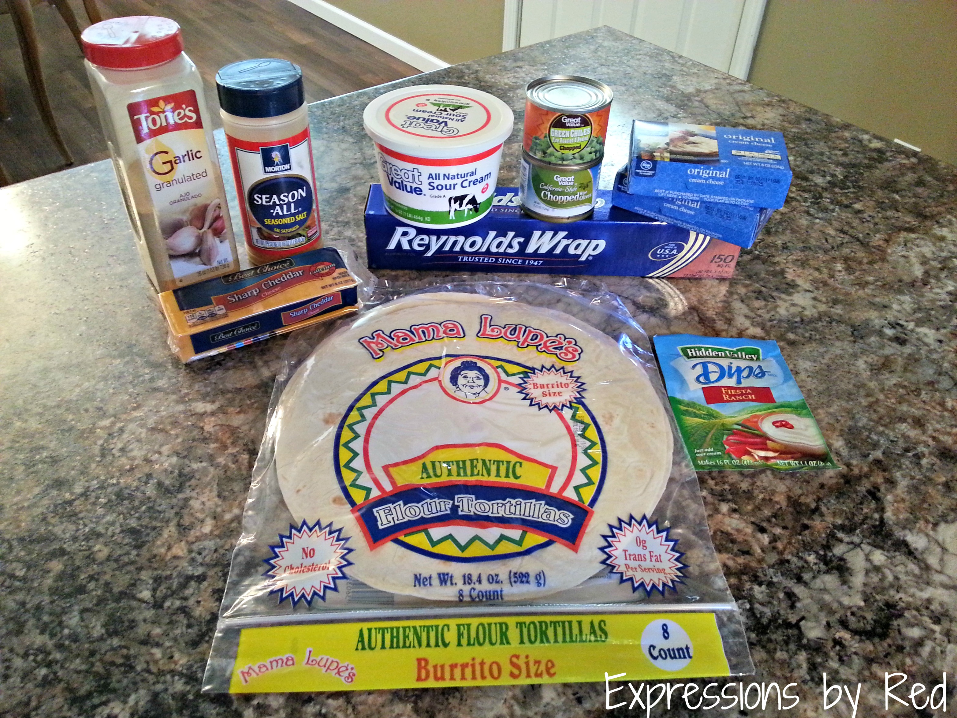 Pinwheels Recipe Ingredients