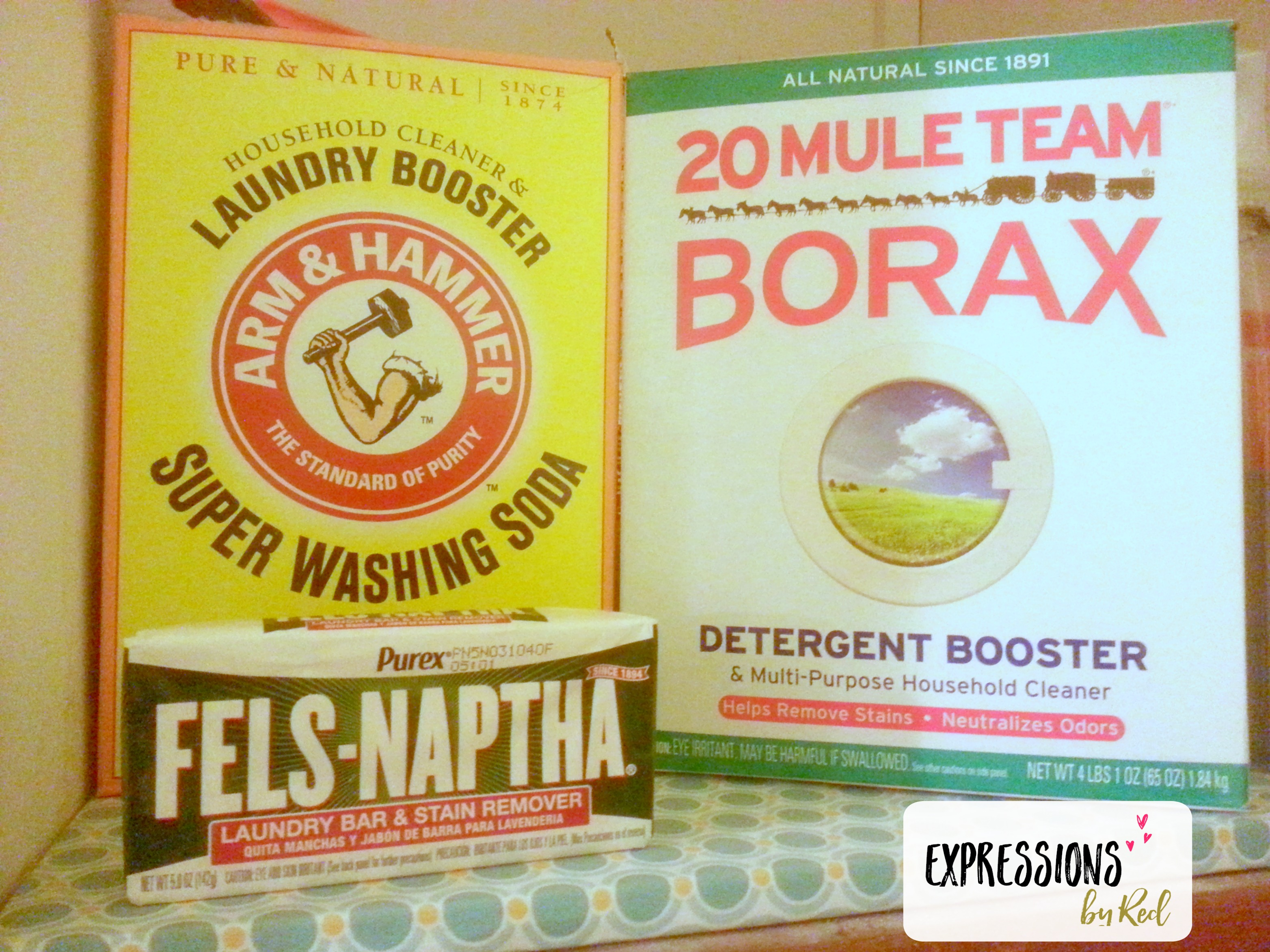 Ingredients for The BEST Homemade Laundry Detergent You'll Ever Find